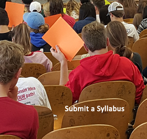 submit a syllabus