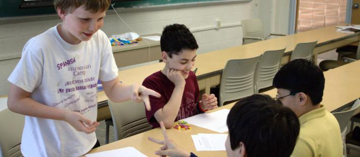 Math Circle introduces applied mathematical concepts to elementary and middle school kids.